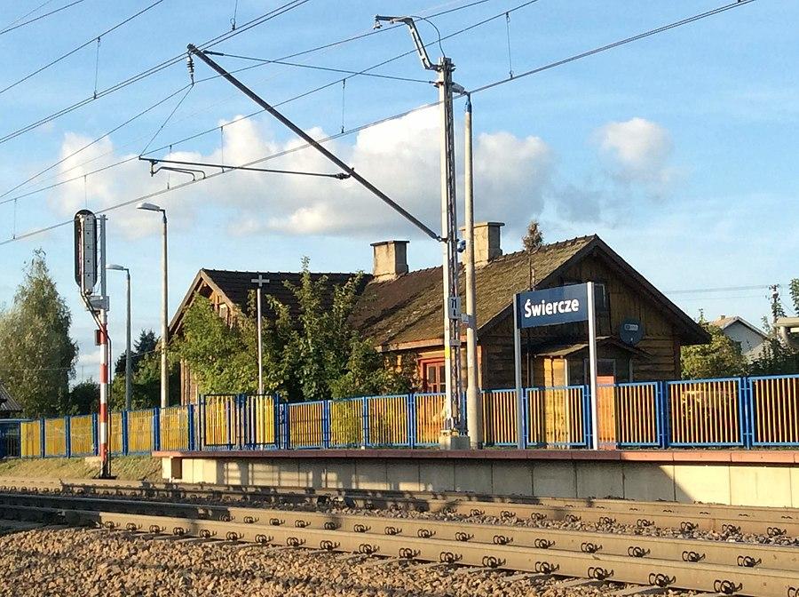 Świercze railway station
