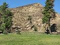 Κρόνιος λόφος μετά τις πυρκαγιές του 2007.jpg