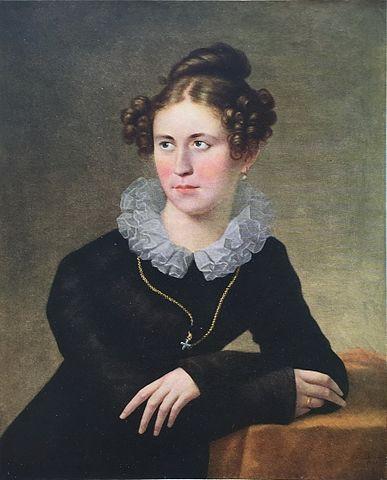 Юзеф Олешкевич. Портрет Александры Андреевны Воейковой, <i>1821</i>