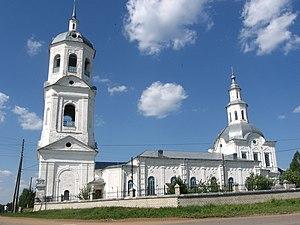 Orichevsky District - Church of Zosima and Savvatiy of Solovki village Korshikov, Orichevsky District, 1777