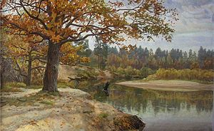 Meshchera Lowlands - M. Presnyakov. Autumn in the Meshchera land. 2003-2005.