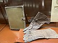 Планшет и лётные перчатки Ивана Кожедуба, 1940-е.jpg