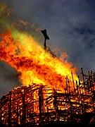 Пожар Троице-Измайловского собора, СПб, 24.08.2006 - Крест.jpg