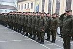 Президент України Петро Порошенко привітав молодих офіцерів з випуском 2289 (16322696104).jpg