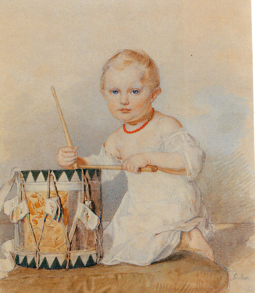 Файл: П.  Соколов.Портрет вел.  князя Константина Николаевича.Конец 1820-х.png