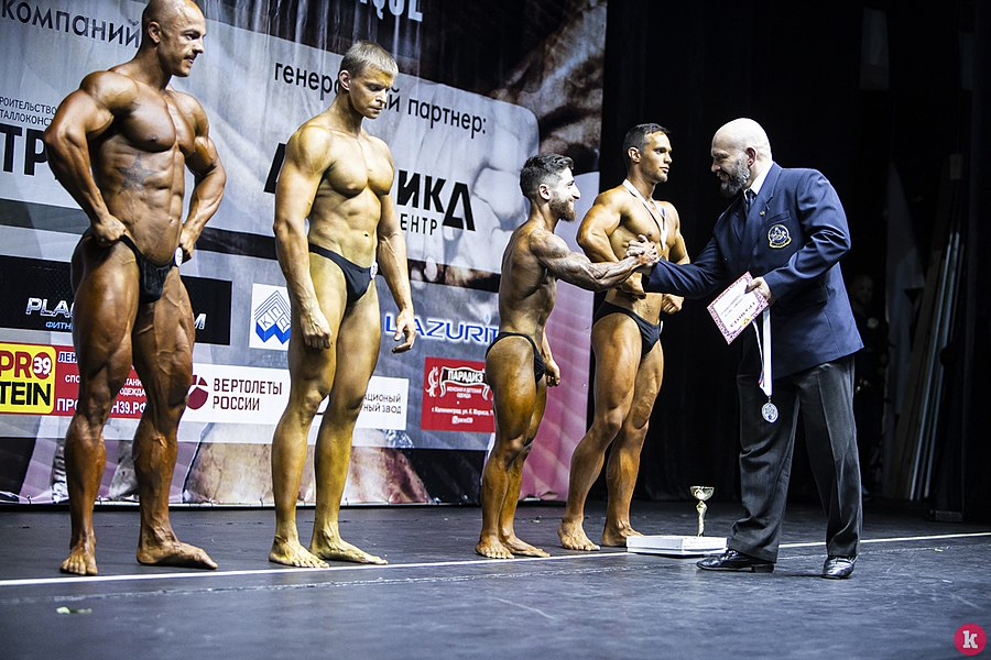 Сhampionship of the Kaliningrad area on bodybuilding 12.jpg