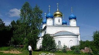 Selivanovsky District - Church of Our Lady of Vladimir, village Tuchkovo