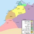 خريطة المغرب بداية حكم العلويين 1660.png
