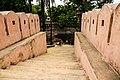 ইদ্রাকপুর দুর্গের সিড়ির ওপরের দিকের দৃশ্য.jpg