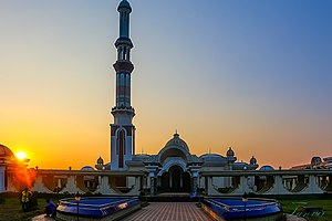 Guthia Mosque - Image: বাইতুল আমান জামে মসজিদ, গুঠিয়া..