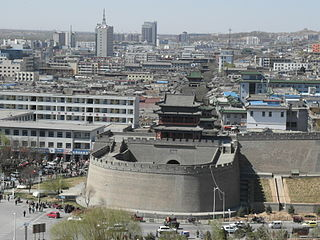 Yulin, Shaanxi Prefecture-level city in Shaanxi, Peoples Republic of China