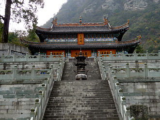Heritage tourism - Wudang Mountains, China