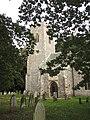 -2018-09-17 Bell tower, Parish church of All Saints Church, Church Street, Gimingham (2).JPG