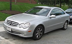 2003-2006 CLK320 coupe