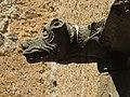 032 Castell de Púbol (Casa Museu Gala Dalí), gàrgola del pati.jpg
