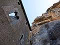 042 Casa del priorat de Sant Miquel del Fai, façana est, vora el cingle.JPG