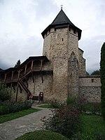 05 Turnul Tezaur - Manastirea Putna.jpg