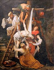 The Descent from the Cross by Peter Paul Rubens (Saint-Omer)