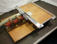 Table saw wikipedia a 1 inch 25 mm micro table saw greentooth Gallery