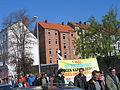 1. Mai 2013 in Hannover. Gute Arbeit. Sichere Rente. Soziales Europa. Umzug vom Freizeitheim Linden zum Klagesmarkt. Menschen und Aktivitäten (100).jpg