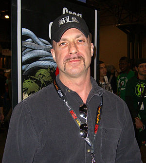 Greg Capullo - Capullo at the 2011 New York Comic Con