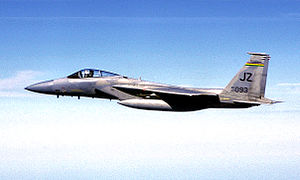 Louisiana Air National Guard - Image: 122d Fighter Squadron Mc Donnell Douglas F 15A 19 MC Eagle 77 0093