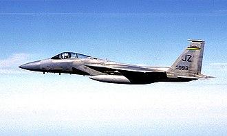 Louisiana Air National Guard - Image: 122d Fighter Squadron Mc Donnell Douglas F 15A 19 MC Eagle 77 0093