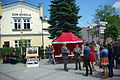 125th anniversary of TG Sokół in Sanok (June 7, 2014) 13 handing prizes.jpg