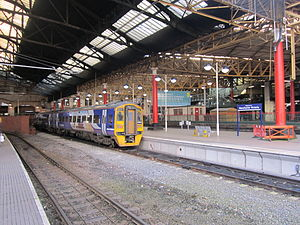 Northern Hub - Manchester Victoria station before modernisation