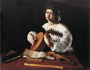 1596 Caravaggio, The Lute Player New York.jpg