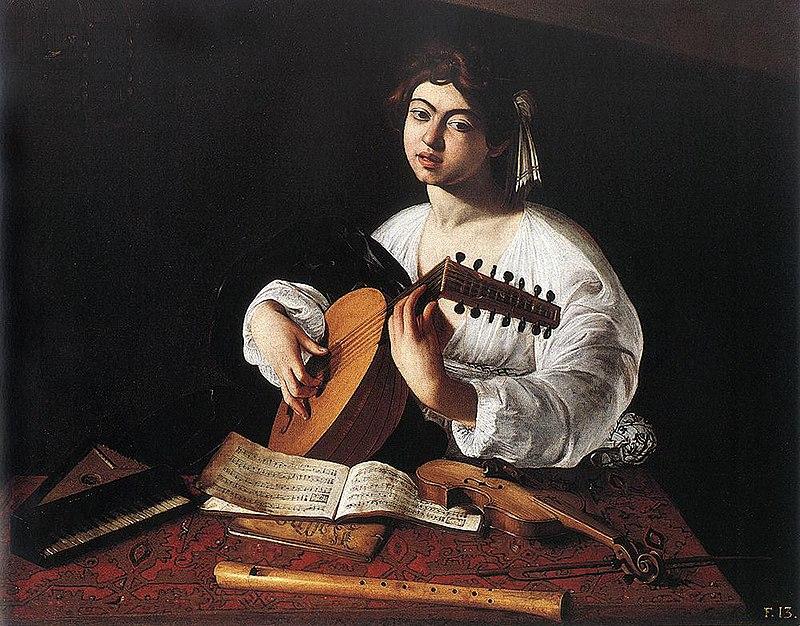 1596 Caravaggio, The Lute Player New York.jpg