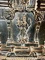 15th century Hazara Rama temple square mandapa damaged Vishnu relief, Hampi Hindu monuments Karnataka 3.jpg