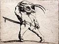 1620 Callot Der Maskierte mit verdrehten Beinen anagoria.JPG