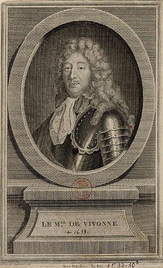 Louis Victor de Rochechouart de Mortemart - Engraving of Louis Victor