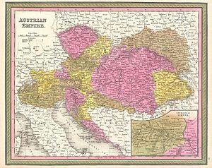 Austrians of Croatia - Austrian Empire in 1850