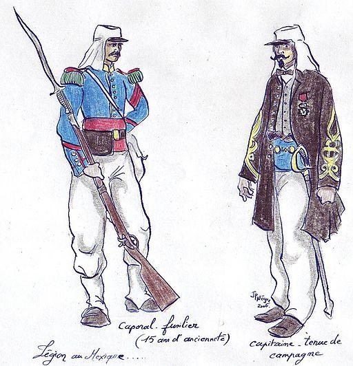 1863 - Légion - unif