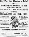 1879 - Anchor Clothing Hall Newspaper Ad Allentown PA.jpg