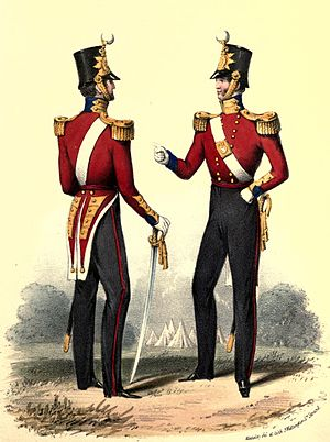 Richard Cannon - Illustration from Cannon's Historical Record of the Eighteenth, or the Royal Irish Regiment of Foot