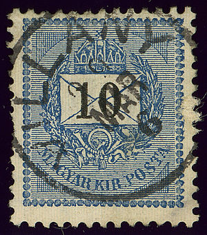 Villány - Cancelled in 1900 in the Kingdom of Hungary