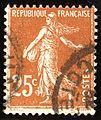 1927 France 25c Jaune-brun Yv 235.jpg