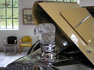 Cadillac V-12 - 1931 Cadillac Series 370A hood ornament