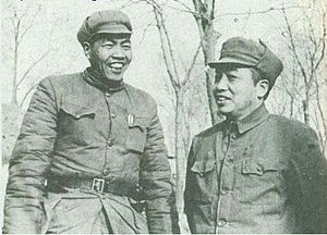 Zhang Zongxun - Zhang with Peng Dehuai in 1949