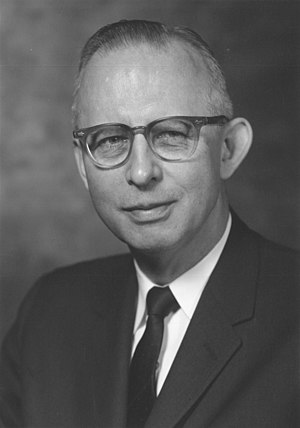 Merrill Chase - Portrait of Merrill Chase in the 1960s