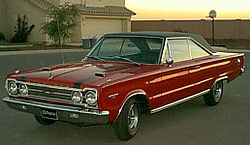 1967 Plymouth GTX First Generation