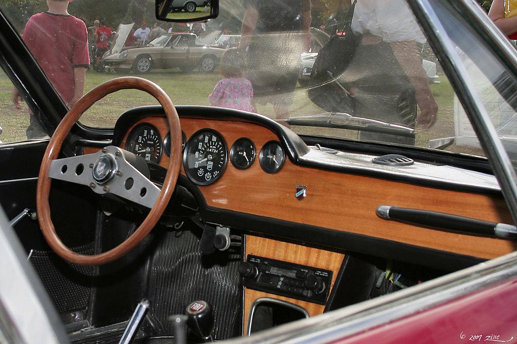 File 1967 Fiat Moretti 850 Ss Sportiva Dark Red Int 1