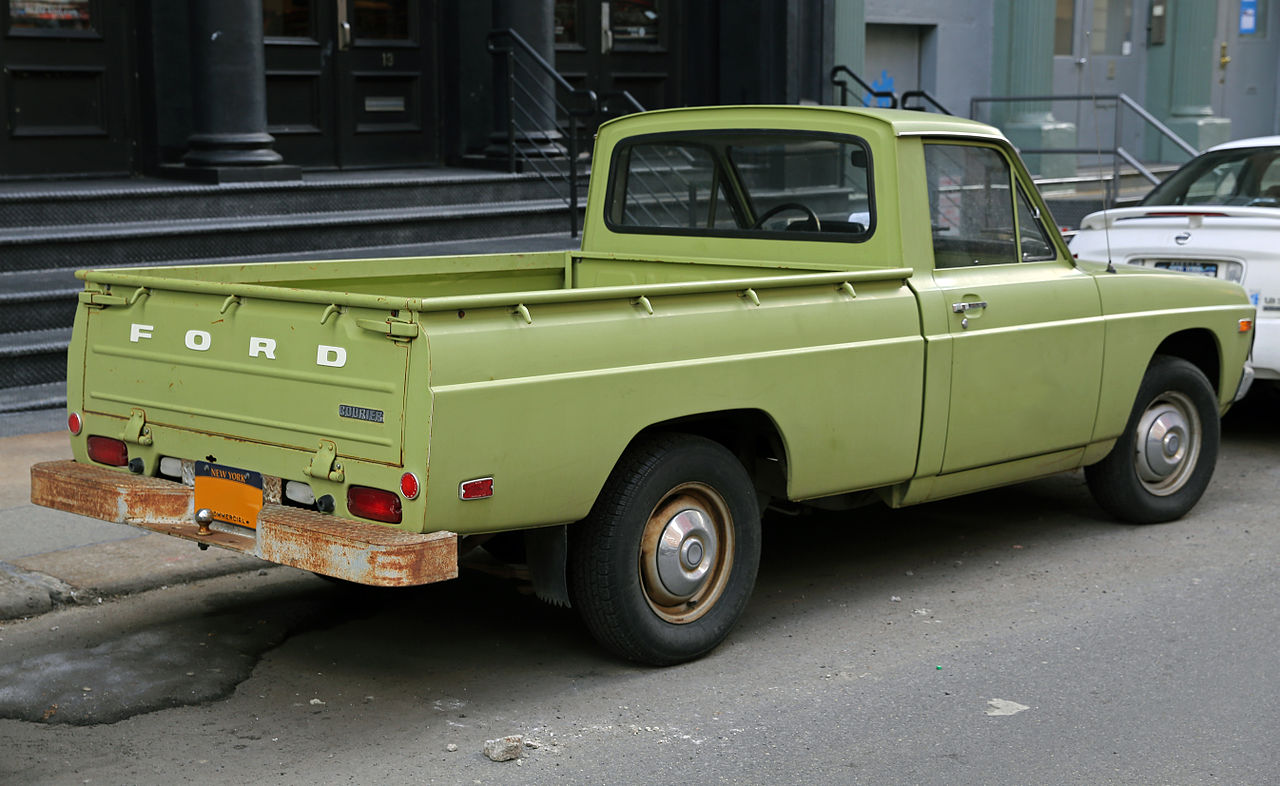 file 1975 ford courier right wikipedia. Black Bedroom Furniture Sets. Home Design Ideas