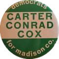 1976 Madison County, Indiana Democratic Campaign Button.png