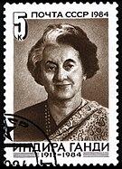 D Indira Gandhi