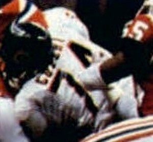 Jim Covert - Covert playing for the Bears in Super Bowl XX