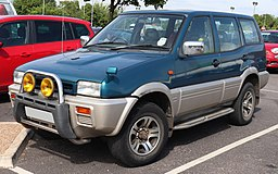 1994 Nissan Mistral TD Automatic 2.7 Front